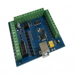 Mach3 USB CNC 4 Axis Smooth Stepper Motion Breakout Board
