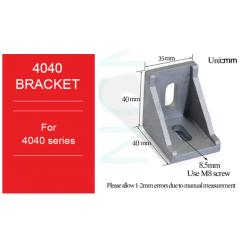 Bracket Gusset EU 4040 Aluminium Profile - 10 PCS