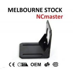 86mm Black Mounting Bracket For NEMA34 Stepper Motor