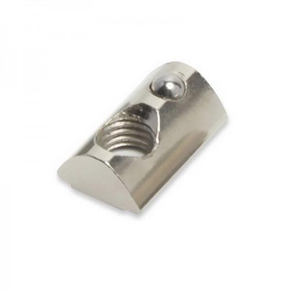 Spring T-Nut 4040 M6 Aluminium Profile - 25 Pcs